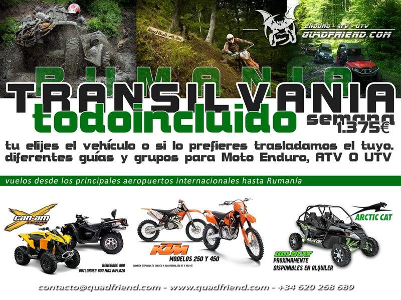 Transilvania: ahora mas cerca que nunca, con vehículo incluido, todo 1375€  7 dias.