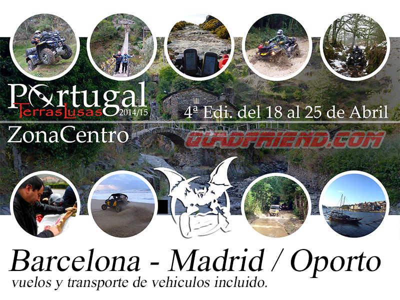 TerrasLusas 4ª Edi. Madrid-Barcelona / Oporto.