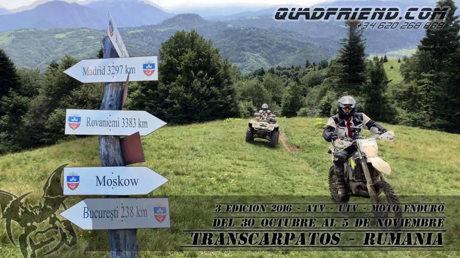 3ª Expedición 2016 Transcarpatos Rumanía.