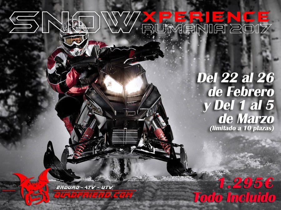 Transilvania Moto de Nieve. SnowXperience 2017.