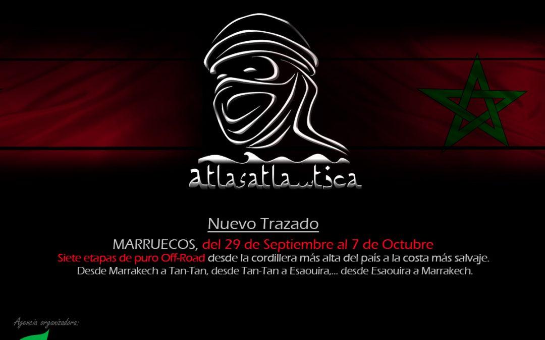 Atlas&Atlantica 2017. Marruecos, Nuevo Trazado.