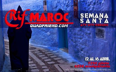 RifMaroc 2017 Semana Santa.
