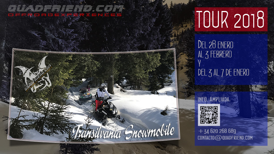 Transilvania Snowmobile 2018. Enero y Febrero.