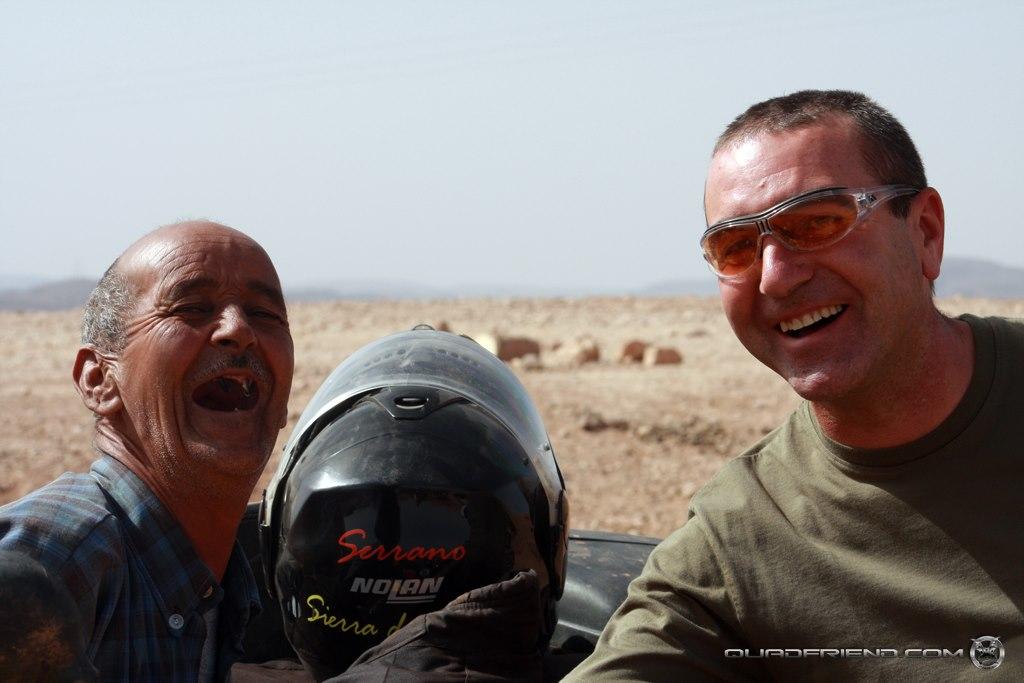 2008/07 Trazado Quadsolidarios – Marruecos